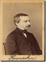 Leopold Kronecker