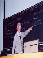 Edsger W. Dijkstra Durring Lecture