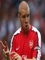 Philippe Senderos During Match