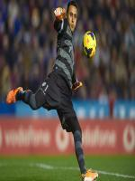 Keylor Navas During Match