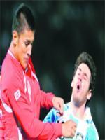 Ã?scar Duarte during Match