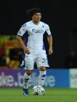Christian Bolaños During Match