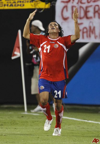 Randall Brenes in FIFA World Cup 2014