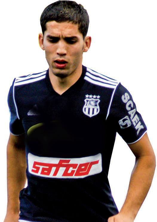 Abdelmoumene Djabou in FIFA World Cup 2014