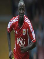 Albert Adomah During Match