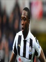 Shola Ameobi During Match