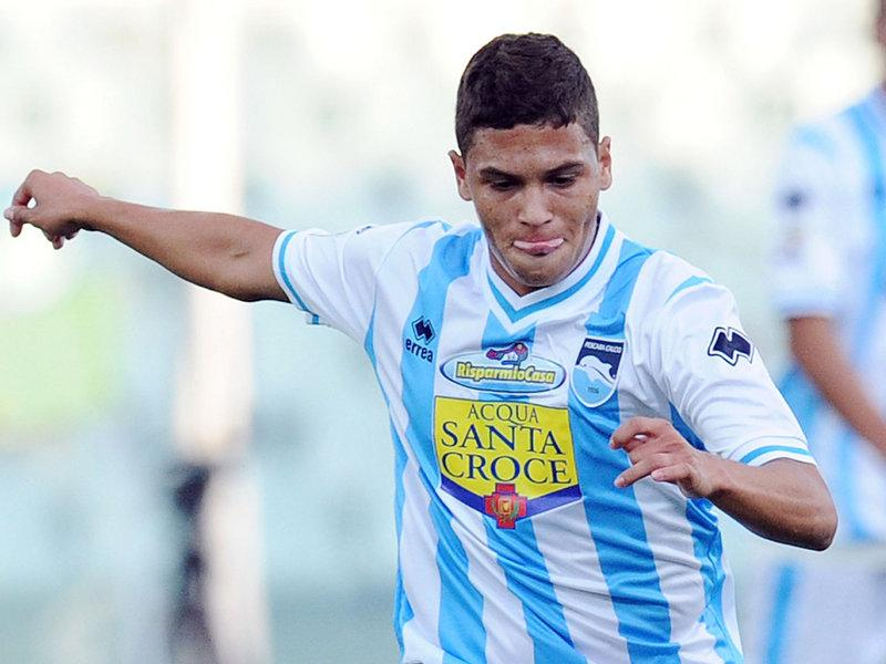 Juan Fernando Quintero During Match