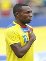 Walter Ayoví during match