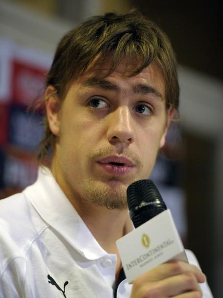 Sebastián Coates press conference