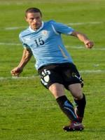 Diego Pérez during match