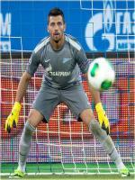 Yuri Lodigin During Match