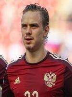 Andrey Yeshchenko during match