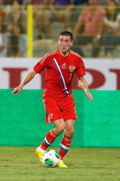 Aleksei Ionov during match