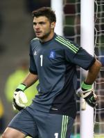 Orestis Karnezis during match
