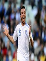 Vasilis Torosidis during match