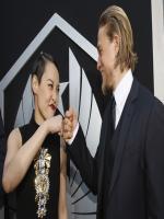 Rinko Kikuchi and Charlie Hunnam