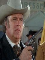 David Huddleston With Gun In Movie