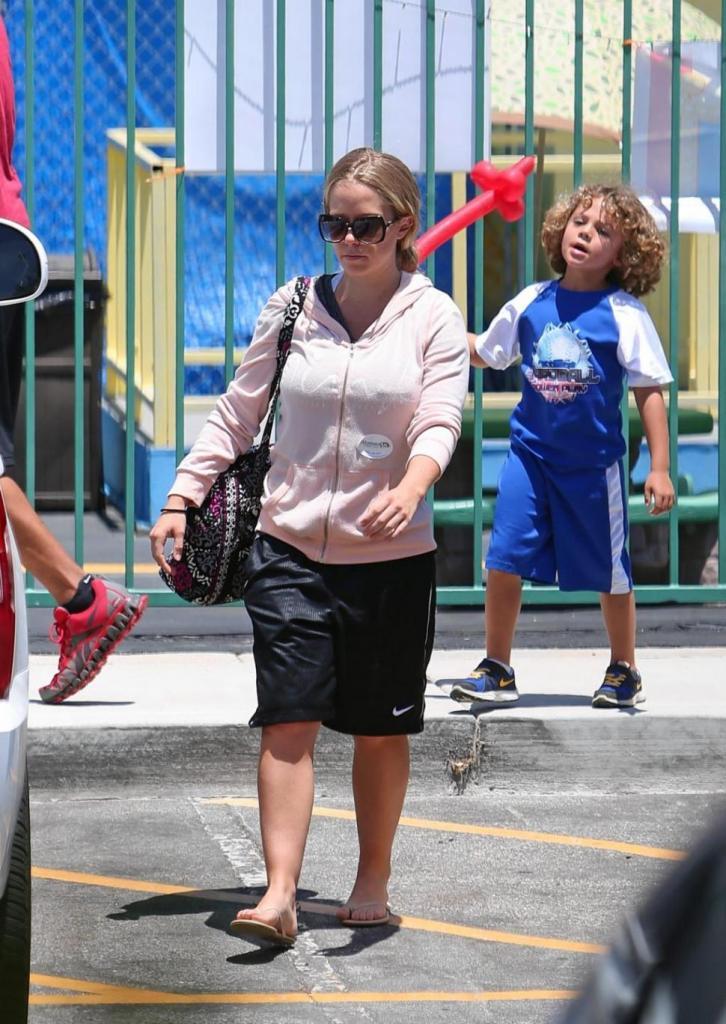 Kendra While walking
