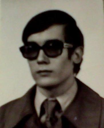 Marek Å»ukow-Karczewski in 1978