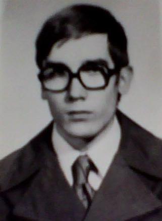 Marek Å»ukow-Karczewski in 1976
