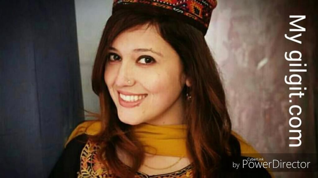 Eman almas in Hunza Dress