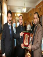 Chief Minister GB Hafiz Hafeez-ur-Rehman visit NATCO Head Office.