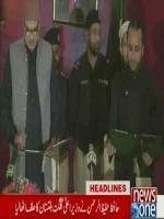 GILGIT: Newly elected Chief Minister of Gilgit-Baltistan Hafiz Hafeezu