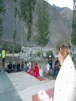at hunza valley