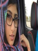 Mia Khalifa in Muslim Dress