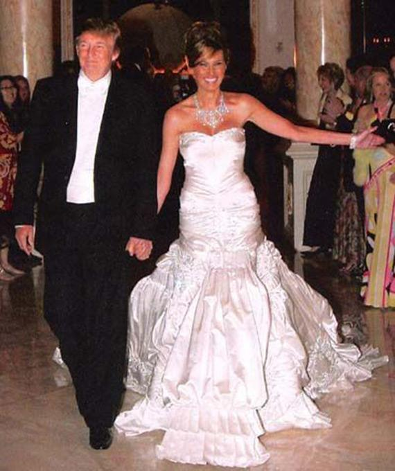 Melania & Donald Trump Wedding