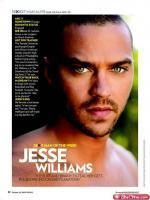 Jesse Williams on Magazine