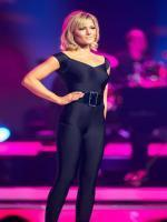 Helene Fischer Hot in Black Dress