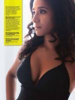 Tannishtha Chatterjee Hot in Black Dress