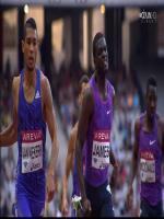 Wayde van Niekerk Running