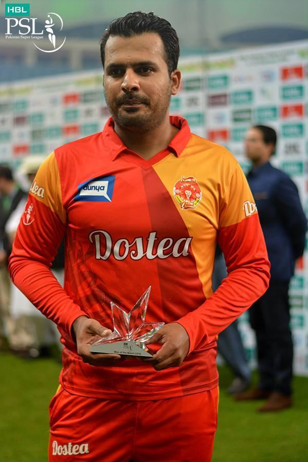 Sharjeel Khan in Pakistan Super League