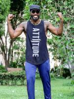 Attiitude chris gayle