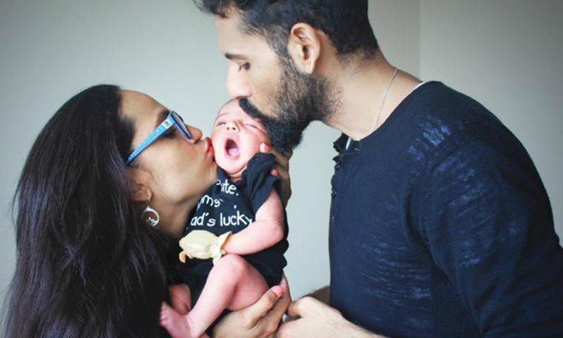 Falak Shabir Family