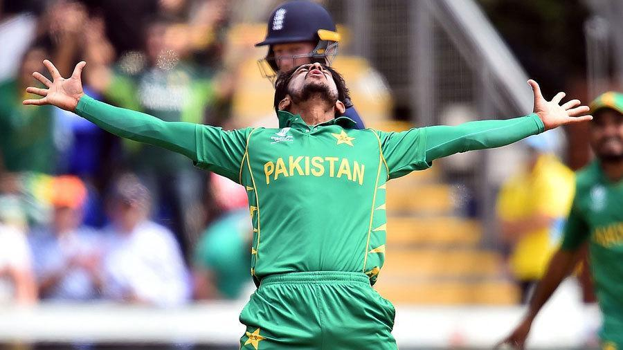 Pakistani Medium Fast Bowler Hasan Ali Wallpaper