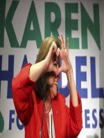 Republican Karen HandeHidden Fieldl square off in Tuesday's special e