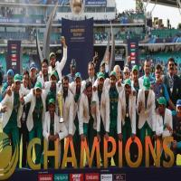 ICC Final Pakistan Vs India: Pakistan won by 180 run