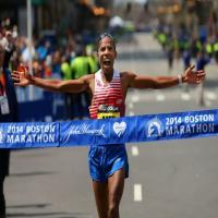 Keflezighi became the first American man to win Boston Marathon in 30 years