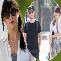 Strictly's Daisy Lowe shows off her figure as time with a mystery man