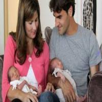 Roger Federer and wife welcome Twins! Miracle again