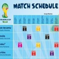 FIFA World Cup 2014 Schedule With Each Match Live Updates