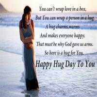 Today Celebrited Hug Day Around the World