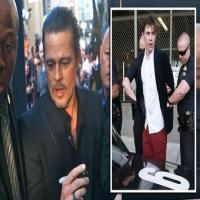 Brad Pitt attacked by Ukrainian prankster Vitalii Sediuk