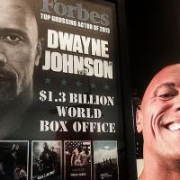 Dwayne The Rock Johnson straight to Gym