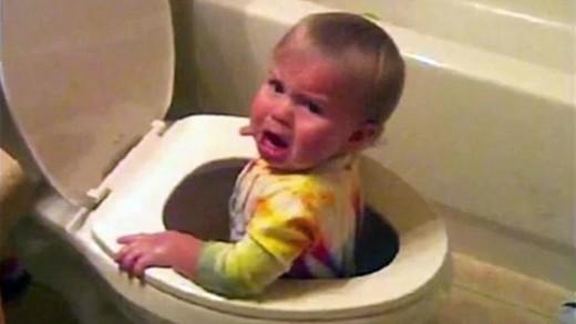 When a baby mischievous