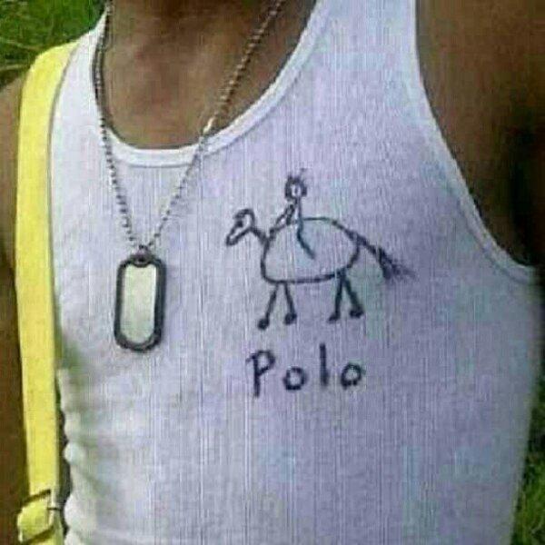 Polo! Seems legit...hahaha