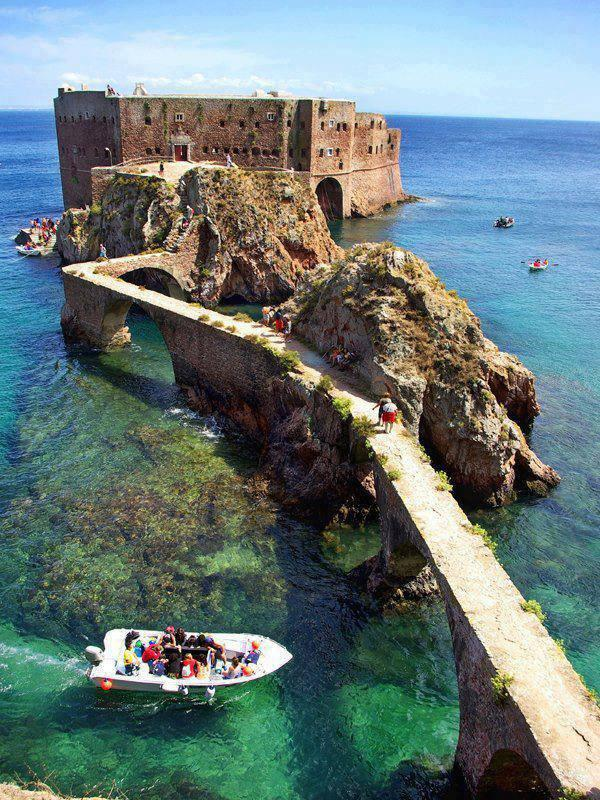 Portugal Fort de Saint John the Baptist Berlenga